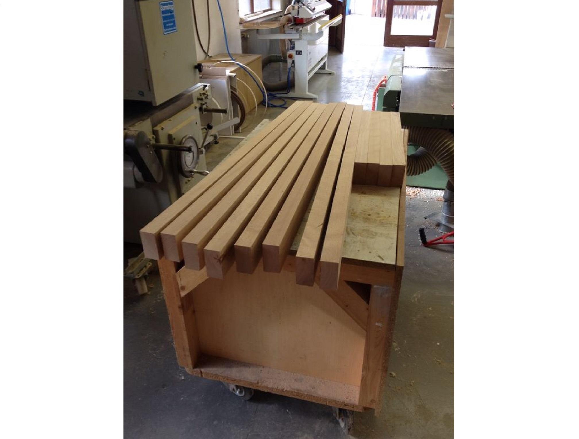 Badezimmermöbel Ikea Erfahrungen ~ küche massivholz buche  Highboard aus Buche Massivholz Schreinerei